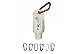1.9 Oz. Bottle SPF 50 Sunscreen with Carabiner  - Made in USA
