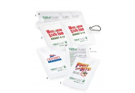 NaturGuard™ Deet-free Natural Insect Repellent Wipe